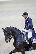 Patrik Kittel on Deja during the Equestrian FEI World Cup Dressage Lyon 2017 on November 2, 2017 at Eurexpo Lyon in Chassieu, near Lyon, France - Photo Romain Biard / Isports / ProSportsImages / DPPI