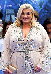 Gemma Collins attending the European premiere of Valerian and the City of a Thousand Planets at Cineworld in Leicester Square, London