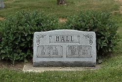 Lilly Cemetery - Lilly Illinois<br /> <br /> Myron C Hall (10-2-1911  2-14-2002)  Marguerite J Hall (3-31-1906  2-8-2002)