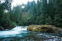 Salmon Creek Falls. Oakridge, Oregon.
