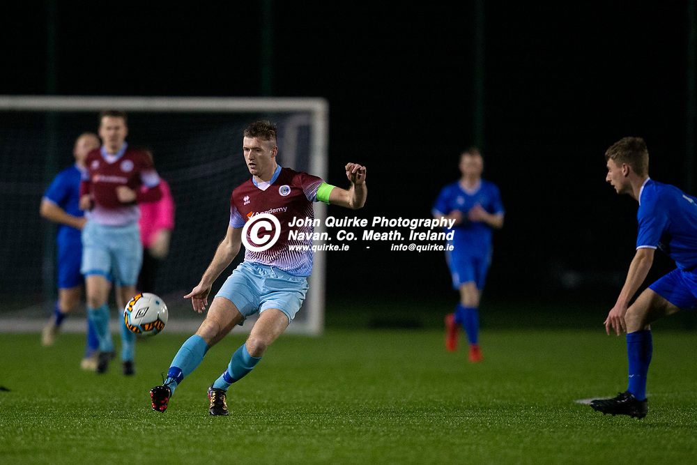 03/11/2019, Challenge Cup Quarter Final at MDL.<br /> Parkvilla vs Enfield<br /> Lee Fahy in action for Parkvilla<br /> Photo: David Mullen / www.quirke.ie ©John Quirke Photography, Unit 17, Blackcastle Shopping Cte. Navan. Co. Meath. 046-9079044 / 087-2579454.<br /> ISO: 800; Shutter: 1/1250; Aperture: 4; <br /> File Size: 2.7MB