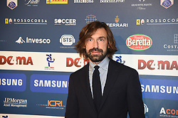 December 3, 2018 - Milan, Italy - Andrea Pirlo guest of ''Gran Gal del Calcio'', gala reserve for the awards of the best players of the 2017/2018 season of the italian Serie A Tim, witch is held in Megawatt Court in Milan, Italy. (Credit Image: © Andrea Diodato/NurPhoto via ZUMA Press)