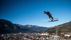 31.12.2016, Olympiaschanze, Garmisch Partenkirchen, GER, FIS Weltcup Ski Sprung, Vierschanzentournee, Garmisch Partenkirchen, TRaining, im Bild Andreas Kofler (AUT), mit einem Tilt & Shift Objektiv fotografiert // Andreas Kofler of Austria photographed with a Tilt & Shift lens during his Practice Jump for the Four Hills Tournament of FIS Ski Jumping World Cup at the Olympiaschanze in Garmisch Partenkirchen, Germany on 2016/12/31. EXPA Pictures © 2016, PhotoCredit: EXPA/ JFK