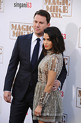 Channing Tatum and Jenna Dewan Tatum attend the Los Angeles World Premiere of Warner Bros. Pictures Magic Mike XXL at TCL Chinese Theatre on June 25, 2015 in Los Angeles, CA, USA. Photo by Lionel Hahn/ABACAPRESS.COM