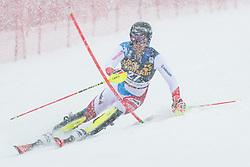 Simonet Sandro (SUI) during the Audi FIS Alpine Ski World Cup Men's  Slalom at 60th Vitranc Cup 2021 on March 14, 2021 in Podkoren, Kranjska Gora, Slovenia Photo by Grega Valancic / Sportida