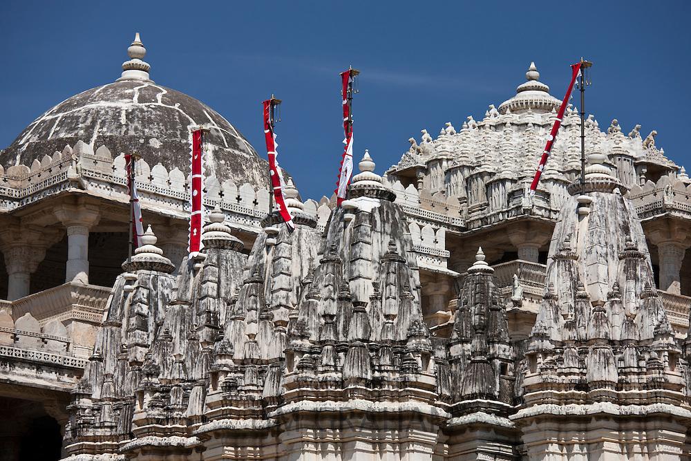 The Ranakpur Jain Temple at Desuri Tehsil in Pali District of Rajasthan, Western India