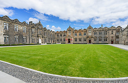 Quadrangle of St Salvator's College, University of St Andrews, St Andrews, Fife, Scotland