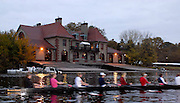 Boston, Massachusetts, USA. Radcliffe [Harvard] Women's RC.  [Wead] Boathouse.  2006, Head of the Charles, Thursday, 19/10/2006, Photo  Peter Spurrier/Intersport Images...[Mandatory Credit, Peter Spurier/ Intersport Images] Rowing Course; Charles River. Boston. USA