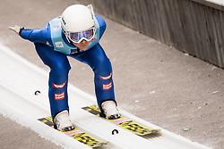 February 7, 2019 - Ljubno, Savinjska, Slovenia - Marita Kramer of Austria competes on qualification day of the FIS Ski Jumping World Cup Ladies Ljubno on February 7, 2019 in Ljubno, Slovenia. (Credit Image: © Rok Rakun/Pacific Press via ZUMA Wire)