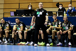 Alfred Gislason, head coach of Germany during handball match between National Teams of Germany and Slovenia at Day 2 of IHF Men's Tokyo Olympic  Qualification tournament, on March 13, 2021 in Max-Schmeling-Halle, Berlin, Germany. Photo by Vid Ponikvar / Sportida