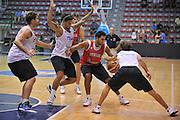 Sassari 14 Agosto 2012 - Qualificazioni Eurobasket 2013 -Allenamento<br /> Nella Foto : TEAM ITALIA<br /> Foto Ciamillo