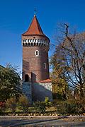 Baszta Pasamoników (Baszta Szmuklerzy) w Krakowie, Polska<br /> Pasamoniky Tower (Stonemason's Tower) in Cracow, Poland