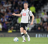 Derby County's Alex Pearce<br /> <br /> Photographer Mick Walker/CameraSport<br /> <br /> The EFL Sky Bet Championship - Derby County v Ipswich Town - Tuesday 13th September 2016 - iPro Stadium - Derby<br /> <br /> World Copyright © 2016 CameraSport. All rights reserved. 43 Linden Ave. Countesthorpe. Leicester. England. LE8 5PG - Tel: +44 (0) 116 277 4147 - admin@camerasport.com - www.camerasport.com