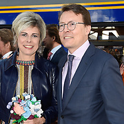 NLD/Tilburg/20170427- Koningsdag 2017, Constantijn en partner Laurentien