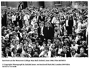 Survivors at the Worcester College May Ball. Oxford. June 1984. Film 84558f33<br /><br />© Copyright Photograph by Dafydd Jones<br />66 Stockwell Park Rd. London SW9 0DA<br />Tel 0171 733 0108