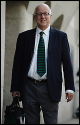 Former MP Denis MacShane arrives at the Old Bailey. He is  in court over expenses<br /> Description<br /> The 65-year-old former Rotherham MP faces one count of false accounting following claims that he had faked receipts London, United Kingdom. Friday, 27th September 2013. Picture by Andrew Parsons / i-Images