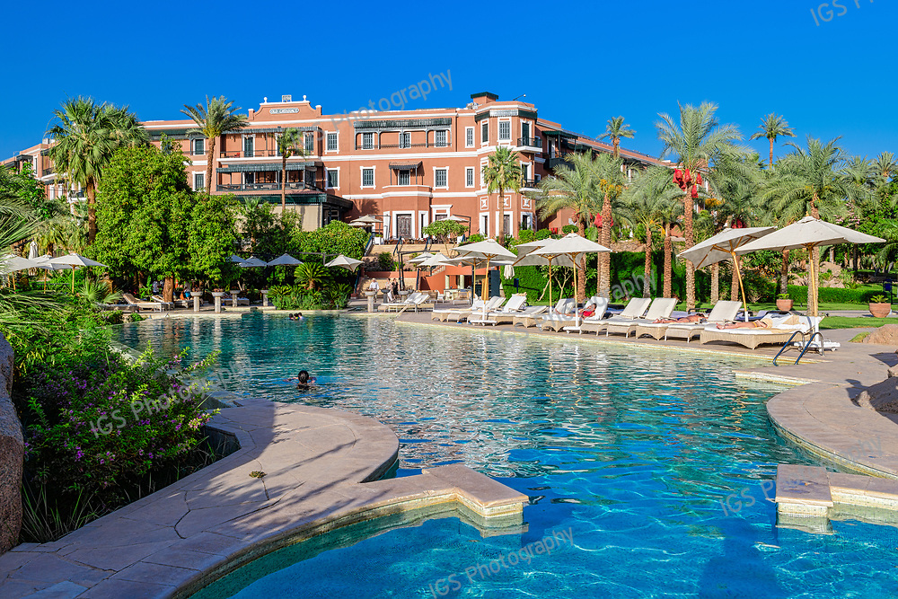 Old Cataract Hotel, is a historic British colonial-era 5-star luxury resort hotel located on the banks of the River Nile in Aswan, Egypt