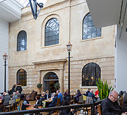 The Chapel, Samuel Salter building, now Boswells cafe, Shires shopping centre, Trowbridge, Wiltshire, England, UK