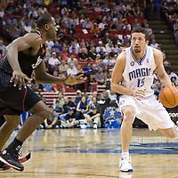 BASKETBALL - NBA - ORLANDO (USA) - 06/11/2008 -  .ORLANDO MAGIC V PHILADELPHIA SIXERS (98-88) - HEDO TURKOGLU / ORLANDO MAGIC, ELTON BRAND / PHILADELPHIA 76ERS