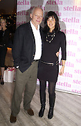 David Gilmour and Polly Sampson. Launch of the Sunday Telegraph magazine 'Stella'. Momo, Berkeley St. London.   November 2005 . ONE TIME USE ONLY - DO NOT ARCHIVE © Copyright Photograph by Dafydd Jones 66 Stockwell Park Rd. London SW9 0DA Tel 020 7733 0108 www.dafjones.com