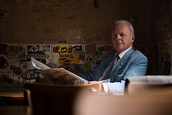 RELEASE DATE: February 3, 2017 TITLE: Collide STUDIO: Open Road Films DIRECTOR: Eran Creevy PLOT: An American backpacker gets involved with a ring of drug smugglers as their driver, though he winds up on the run from his employers across Cologne high-speed Autobahn STARRING: Anthony Hopkins as Hagen Kahl (Credit: