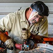 Metal Worker with Pride Industries
