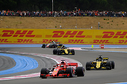June 23, 2018 - Le Castellet, Var, France - Ferrari 5 Driver SEBASTIAN VETTEL (GER) in action during the Formula one French Grand Prix at the Paul Ricard circuit at Le Castellet - France. (Credit Image: © Pierre Stevenin via ZUMA Wire)