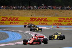 June 23, 2018 - Le Castellet, Var, France - Ferrari 5 Driver SEBASTIAN VETTEL (GER) in action during the Formula one French Grand Prix at the Paul Ricard circuit at Le Castellet - France. (Credit Image: © Pierre Stevenin via ZUMA Wire)