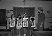 1966 - Dental demonstration at St Agnes School, Crumlin