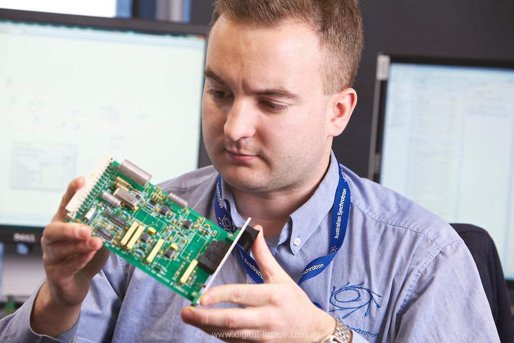 Sean Murphy, Engineering office at the Australian Synchrotron