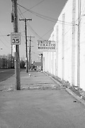 United Tobacco Warehouse, Lexington, KY.  Infrared (IR) photograph by fine art photographer Michael Kloth. Black and white infrared photographs
