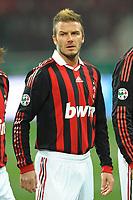 Fotball<br /> Italia<br /> Foto: Inside/Digitalsport<br /> NORWAY ONLY<br /> <br /> David BECKHAM Milan<br /> <br /> 06.01.2010<br /> Milan v Genoa 5-2