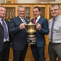 Minor Management Team, John O'Dea, selector, Martin Morrissey, Manager, Michael Corry,  Selector and Joe Morrissey, Club Chairman