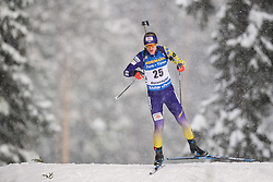 March 9, 2019 - –Stersund, Sweden - 190309 Dmytro Pidruchnyi of Ukraine competes in the Men's 10 KM sprint during the IBU World Championships Biathlon on March 9, 2019 in Östersund..Photo: Petter Arvidson / BILDBYRÃ…N / kod PA / 92252 (Credit Image: © Petter Arvidson/Bildbyran via ZUMA Press)