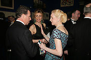 VISCOUNT LINLEY, MARIANNE SACHS  AND LADY JUDGE, Royal Academy Annual Dinner. Piccadilly. London. 5 June 2007.  -DO NOT ARCHIVE-© Copyright Photograph by Dafydd Jones. 248 Clapham Rd. London SW9 0PZ. Tel 0207 820 0771. www.dafjones.com.