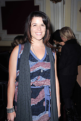 NEVE CAMPBELL at a screening of the short film 'Away We Stay' directed by Edoardo Ponti held at The Electric Cinema, Portobello Road, London W1 on 15th November 2010.