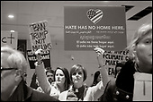 Travel Ban Protest, Logan Airport, January 27, 2017