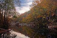 Rezovska river is the natural border between Bulgaria and Turkey