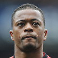 Football - 2012 / 2013 FA Cup - Sixth Round Replay: Chelsea vs. Manchester United<br /> <br /> Patrice Evra - Man Utd at Stamford Bridge.