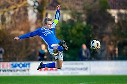 19-01-2019: Voetbal: Bodegraven v Rohda 76: Bodegraven<br /> 4e klasse B - Seizoen 2018-2019<br /> #6 Mitchell van Waveren (Rohda 76)