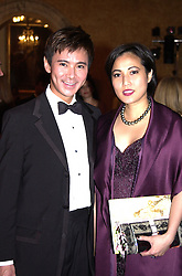 MR & MRS ANDY WONG leading social figure, at a<br />  dinner in London on 21st June 2000.OFR 97<br /> © Desmond O'Neill Features:- 020 8971 9600<br />    10 Victoria Mews, London.  SW18 3PY <br /> www.donfeatures.com   photos@donfeatures.com<br /> MINIMUM REPRODUCTION FEE AS AGREED.<br /> PHOTOGRAPH BY DOMINIC O'NEILL