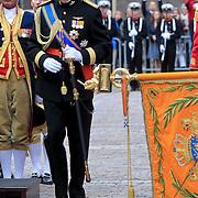 NLD/Den Haag/20110920 - Prinsjesdag 2011, aankomst kroonprins Willem - Alexander