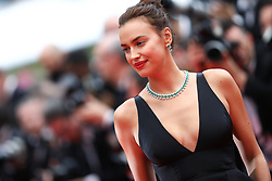 Irina Shayk attends the screening of 'Yomeddine' during the 71st annual Cannes Film Festival at Palais des Festivals on May 9, 2018 in Cannes, France. Photo by Shootpix/ABACAPRESS.COM