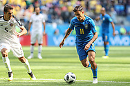 Philippe Coutinho of Brazil during the 2018 FIFA World Cup Russia, Group E football match between Brazil and Costa Rica on June 22, 2018 at Saint Petersburg Stadium in Saint Petersburg, Russia - Photo Thiago Bernardes / FramePhoto / ProSportsImages / DPPI