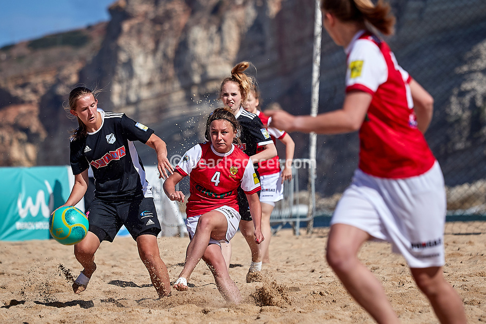 NAZARE, PORTUGAL - JUNE 7: Karolina Wierzbicka of Red Devils Ladies during the Euro Winners Cup Nazaré 2019 at Nazaré Beach on June 7, 2019 in Nazaré, Portugal. (Photo by Jose M. Alvarez)