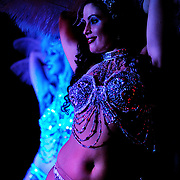 Fleurs d'Egypte dance at the Can Can in Seattle, WA USA