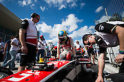 March 14, 2015 - FIA Formula E Miami EPrix: Bruno Senna, Mahindra Racing