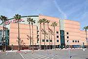 East Side Parking Lot at The Honda Center