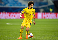 SAINT PETERSBURG, RUSSIA - DECEMBER 08: Axel Witsel of Borussia Dortmund during the UEFA Champions League Group F stage match between Zenit St. Petersburg and Borussia Dortmund at Gazprom Arena on December 8, 2020 in Saint Petersburg, Russia. (Photo by MB Media)