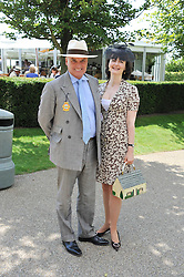 NICHOLAS & GEORGIA COLERIDGE at the 3rd day of the 2011 Glorious Goodwood Racing Festival - Ladies Day at Goodwood Racecourse, West Sussex on 28th July 2011.